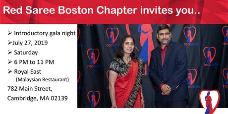 Red Saree Boston Chapter Opening Night Gala tickets