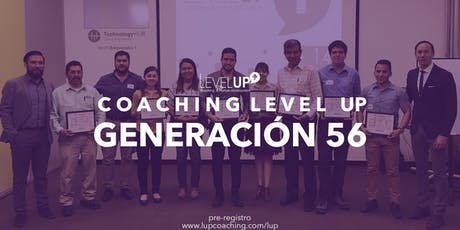 Coaching Level Up - Generación 56  entradas