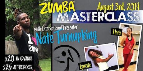 Zumba  Masterclass with Nate Turnupking tickets