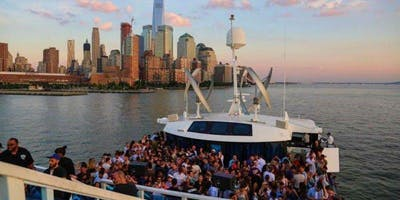BOOZE CRUISE , BOAT PARTY CRUISE  NEW YORK CITY VIEWS  OF STATUE OF LIBERTY,Cocktails & drinks