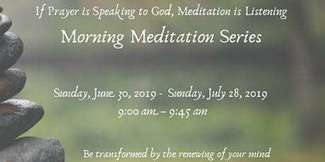 Morning Meditation Series - Presenter J. Felix tickets