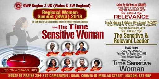 Good Women Fellowship (Wales) Region 2 Summit 2019