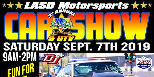 3rd Annual LASD Motorsports Car and UTV Show