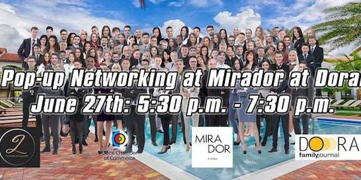 Pop-Up Networking at Mirador Doral - VIP Event!