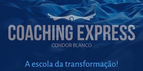 FORMAÇÃO COACH - COACHING EXPRESS CONDOR BLANCO - Ouro Preto MG  / De 7 a 10/Nov) ingressos
