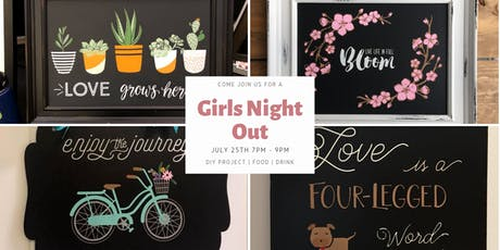 Join us for a DIY Girls Night Out tickets