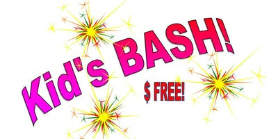 Kids BASH!   Sept. 8, 15 and 22 from 5:00pm-7:00pm