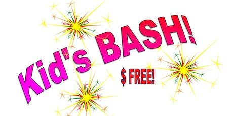Kids BASH!   Sept. 8, 15 and 22 from 5:00pm-7:00pm  tickets