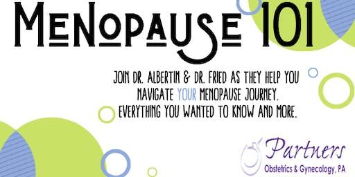 Menopause :101