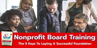 How To Build a Successful Nonprofit Board - Charlotte, North Carolina