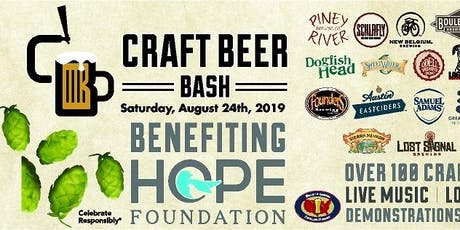 Craft Beer Bash tickets