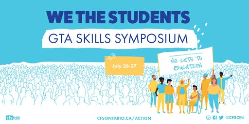 We The Students: GTA Skills Symposium