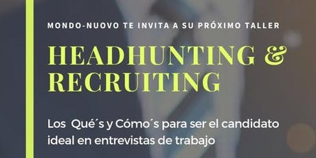 Headhunting y Recruiting boletos