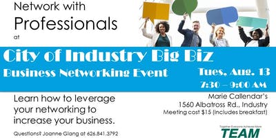 City of Industry Big Biz Invitation Day