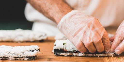 O-Ku's Sushi Making Class with chef Jack Fang