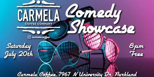 Stand-Up Comedy Showcase | Carmela Coffee