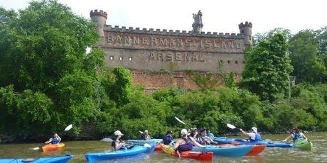 Guided Kayaking Tour @ Bannerman Island w Transport - 07/27/2019 Saturday tickets