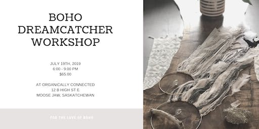 Boho Dreamcatcher Workshop