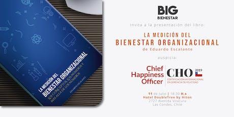 """Presentación del libro: """"La Medición del Bienestar"""" de Eduardo Escalante. tickets"""
