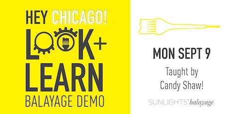 Balayage Brilliance! Look + Learn Demo w/ Candy Shaw! tickets