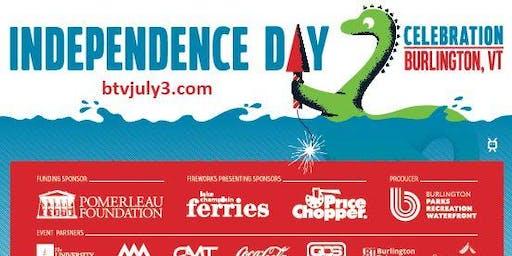Burlington July 3rd Independence Day Celebration