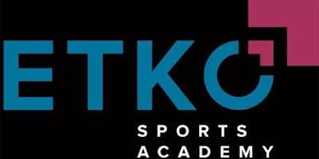 Etko Sports Academy Relaxed Session with Me Too!  tickets