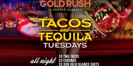 Tacos & Tequila Tuesday tickets
