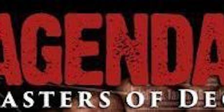Agenda - Masters of Deceit tickets