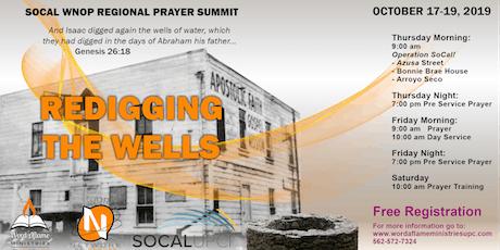 SOCAL WNOP Regional Prayer Summit tickets