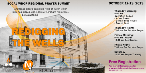 SOCAL WNOP Regional Prayer Summit