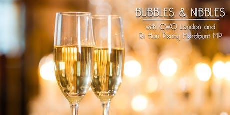 Bubbles & Nibbles tickets