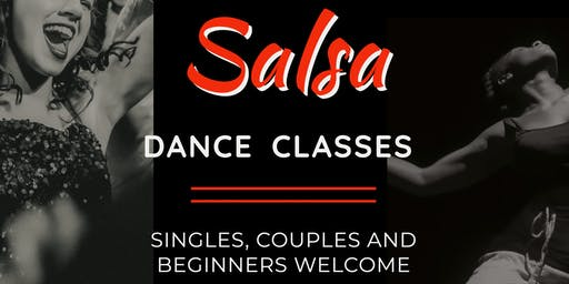 6 week Salsa Course with Professional Lawrence James