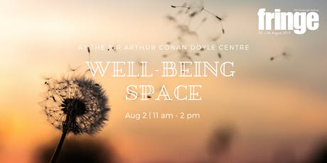 Fringe Open Day: Well-being Space tickets