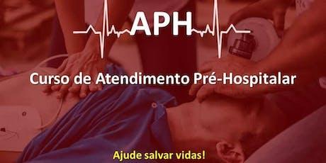 Curso de APH - Atendimento Pré-Hospitalar ingressos