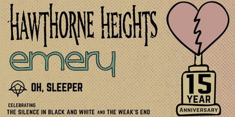 Hawthorne Heights, Emery tickets