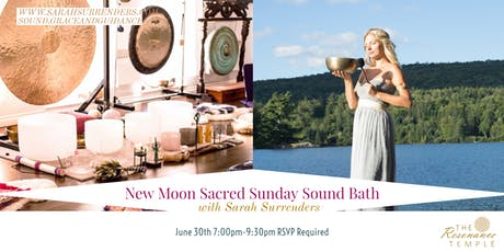 New Moon Sacred Sunday Sound Bath billets