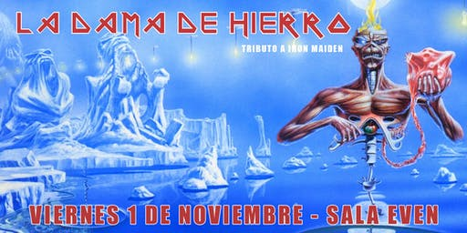 LA DAMA DE HIERRO (Tributo a Iron Maiden, Sevilla)