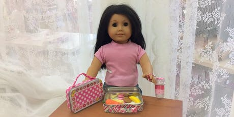 Girl AGain Doll Lunchbox tickets
