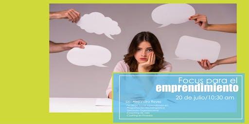 Focus para el emprendimiento
