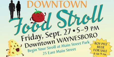 Downtown Food Stroll tickets