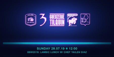 5-Course Lambic Lunch w/ Chef Yailen Diaz Tickets