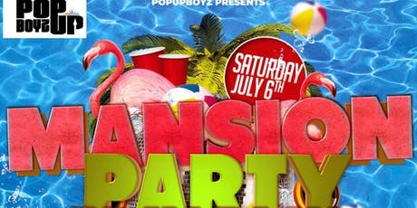 Mansion Pool Party  B-day Bash tickets