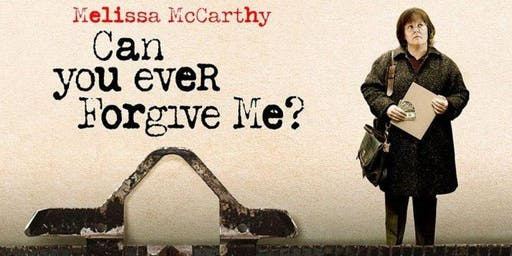Described Film Screening:  Can You Ever Forgive Me?