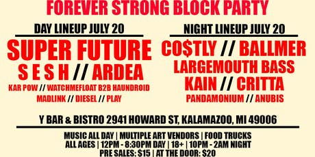 Forever Strong Block Party tickets