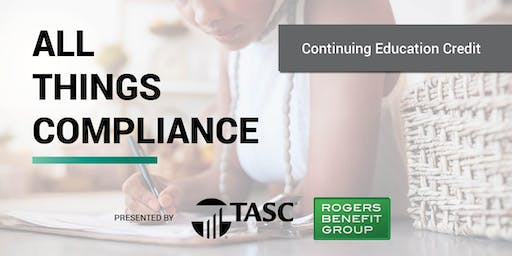 All Things Compliance - CE Event with Carolyn McNairy