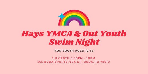Hays YMCA + Out Youth Swim Night