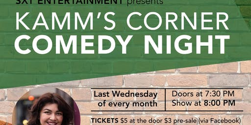 Kamms Corner Comedy Night July 31st