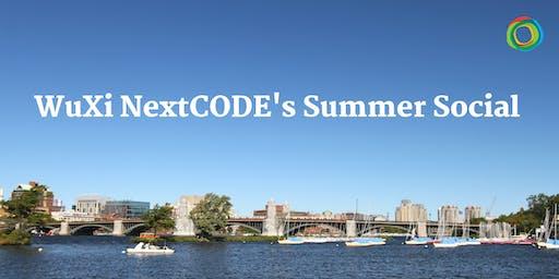 WuXi NextCODE's Summer Social