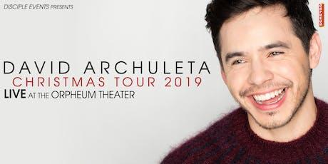David Archuleta  Christmas Tour 2019 tickets