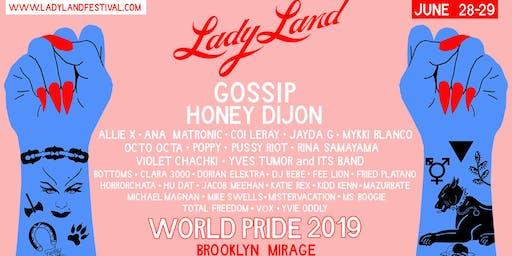 LadyLand Festival - WORLD PRIDE 2019